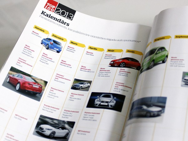 Žurnāls Whatcar, žurnāla vāka dizains, žurnāla maketēšana