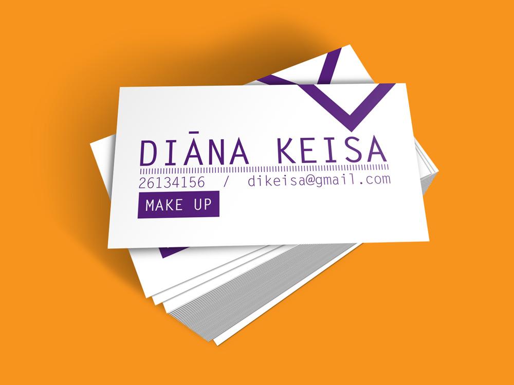 Vizītkartes dizains