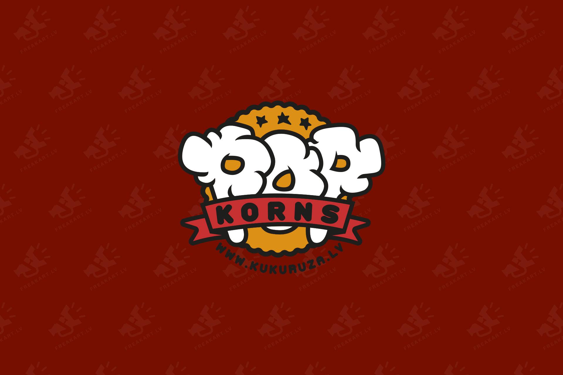 kukuruza.lv logotipa dizaina izstrāde