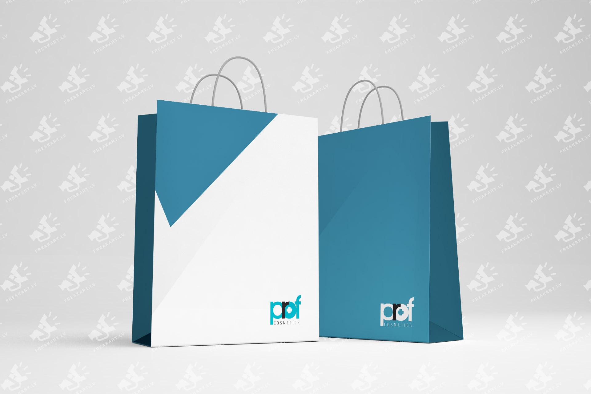 ProfCosmetics logotipa dizaina izstrāde